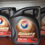 olej TOTAL QUARTZ 9000 Energy 5W-40 5L